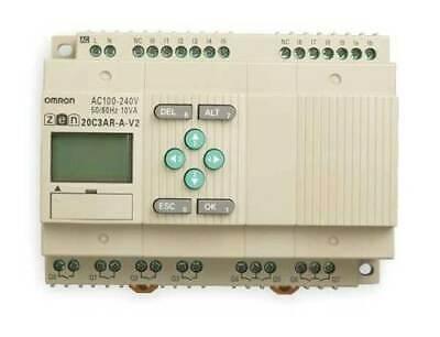 Omron Zen-20c3ar-a-v2 Programmable Relay100-240vac Cpu Unit