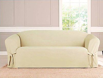 MICRO SUEDE SLIPCOVER, FURNITURE PROTECTOR COVER, 3 ...