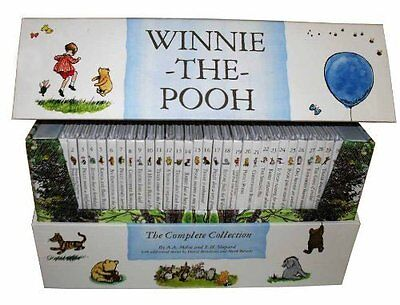 Brand New Winnie the Pooh The Complete Childrens Collection 30 Books Pac