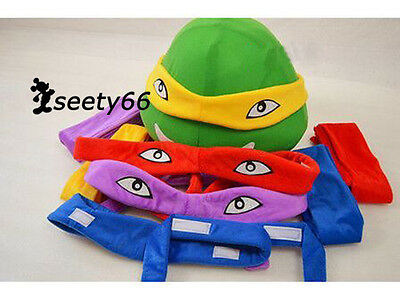 Four Color for Sale Teenage Mutant Ninja Turtles Cartoon Costume Mascot Adult Sz - Mascots For Sale