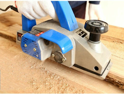220v 1000w Small Flat Planning Machine Portable Electric Planer Red Or Blue New