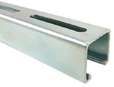 Long Slotted Standard 1-58 X 1-58 Strut Channel 304 Stainless Steel 12 Ga.