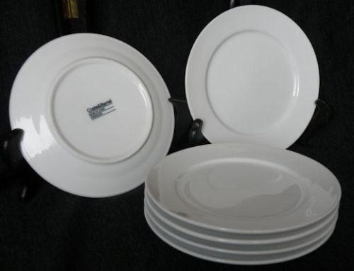 Crate and barrel white plates ebay - Crate and barrel espana ...