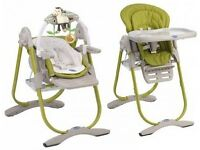 Chicco high chair immaculate