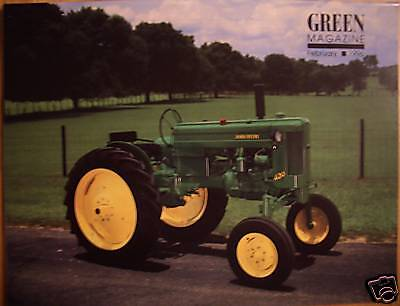 JOHN DEERE Model 60 GREEN MAGAZINE February 1996