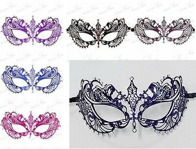 Laser Cut Filigree Metal Mardi Gras Prom Ball Venetian Masquerade Mask M7117 (Masks Masquerade Ball)