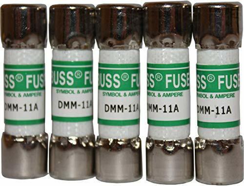 DMM-11A Fast Acting Multi-Meter Fuse Fluke 803293 11 A 1000 V (5 Pack)