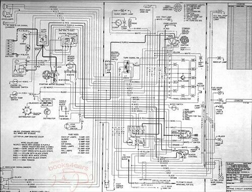 buick 1963 electrical wiring diagram manual shop service
