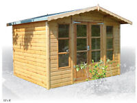 Summerhouse (tongue and groove shiplap boards)