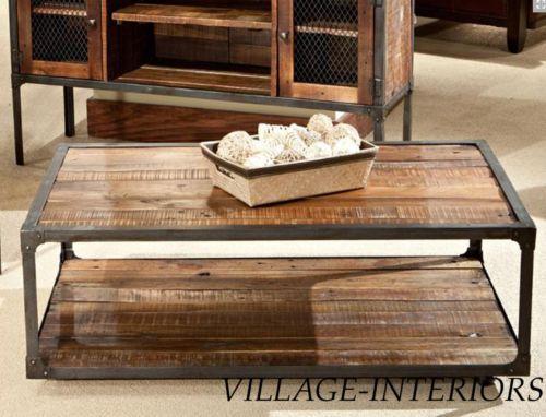 Attrayant Reclaimed Wood Coffee Table | EBay