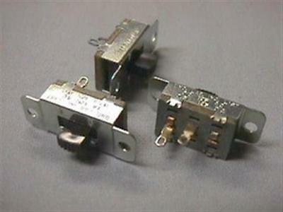 20 Vintage Stackpole Spst Slide Switches
