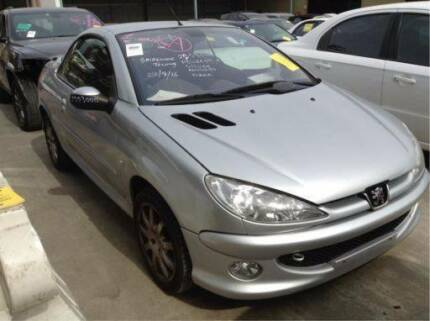 wrecking peugeot 206cc convertible,cabriolet,2.0 manual,2005, St Marys Penrith Area Preview