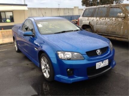 Now wrecking Holden Commodore Ve sv6 utility voodoo blue auto ly7 Williamstown North Hobsons Bay Area Preview