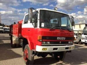 Isuzu 4x4 dual cab fire ,truck Fairfield Fairfield Area Preview