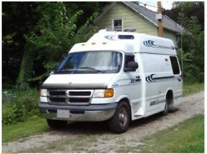 1998 Dodge Ram 3500 Van Freedom Widebody Motorhome