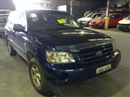 2004 Toyota Kluger MCV now wrecking SUITS 03 - 07 | A1336 Revesby Bankstown Area Preview