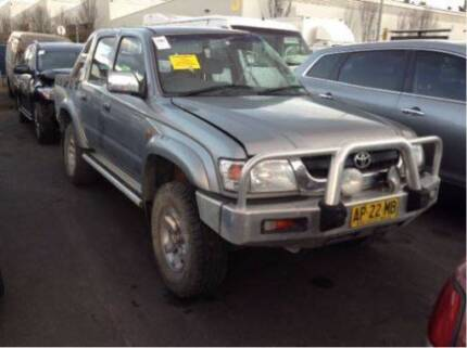 2001 Toyota Hilux SR5 WRECKING | suits 01-05 | A1334 Dual cab ute Revesby Bankstown Area Preview