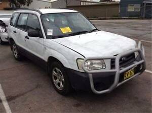 WRECKING / DISMANTLING 2003 SUBARU FORESTER X 2.5L AUTO WHITE North St Marys Penrith Area Preview
