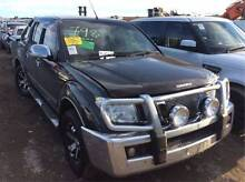 WRECKING D40 NISSAN NAVARA  V6   VQ40     PETROL ALL PARTS !! Wingfield Port Adelaide Area Preview
