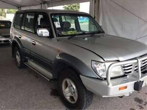 2002 Toyota Land Cruiser Prado Grande Wagon Now Wrecking A1465 Revesby Bankstown Area Preview