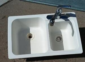 countertop with sink