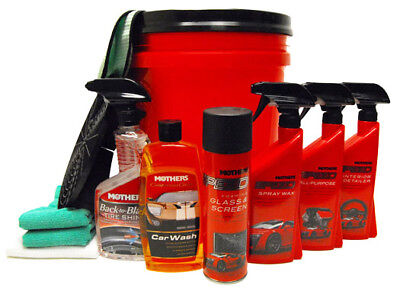Mother's Speed Wash Complete Car Care Kit