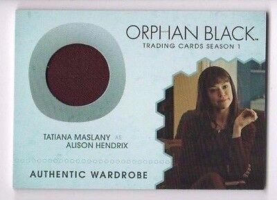 Cryptozoic Orphan Black season 1 costume card M03 Alison Hendrix