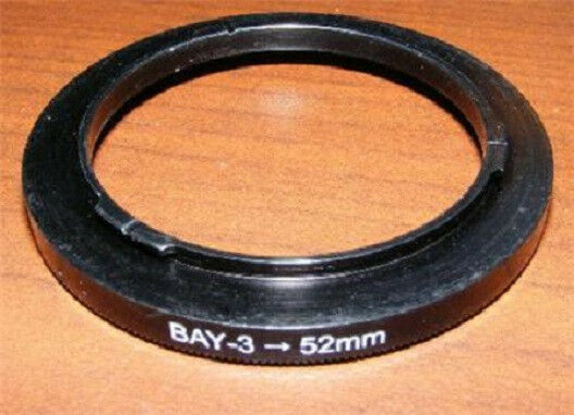 BAY 3 III to 52mm Filter Adapter for Rolleiflex