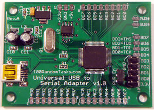 USB-to-Serial-UART-I2C-SPI-JTAG-Adapter-FT2232H-12-000-000-baud