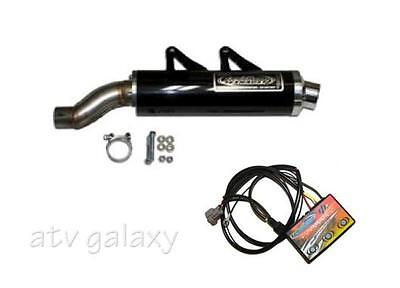 LTE Slip On Exhaust + EFI Controller BLACK CANAM Can am Outlander 800 MAX