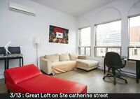 Great Loft on St Catherine Street - Available now