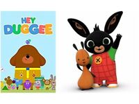 Wanted - Bing and Hey Dugee toys, teddies etc