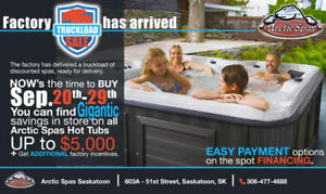 Arctic Spas Factory TRUCKLOAD SALE!!!!!!!