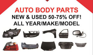 AUTO BODY PARTS PART OUT (New/Used) | PAINT | BODY WORK REPAIR