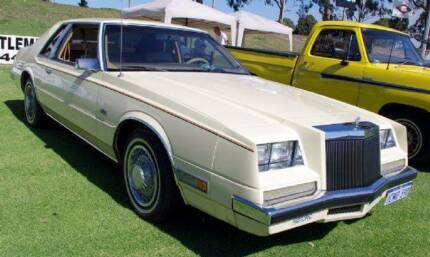 1981 CHRYSLER *IMPERIAL* LUXURY COUPE.