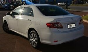 2012 Toyota Corolla ZRE152R MY11 Ascent White 4 Speed Automatic Sedan Gosnells Gosnells Area Preview