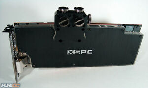 R9 290 videocard with Water-block  (stock cooling included)