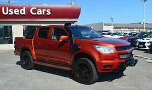 2014 Holden Colorado RG MY14 LTZ Crew Cab Orange 6 Speed Sports Automatic Utility Bayswater Bayswater Area Preview