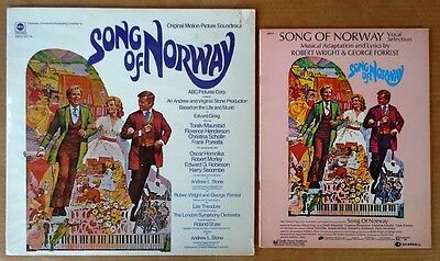 Song Of Norway   Lp Soundtrack   Abc Label   Sealed Lp   Songbook