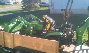 Tractor and Trailer for hire