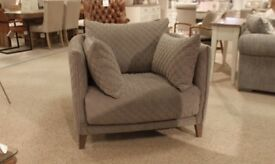 Fishpools Grey Armchair Brand New