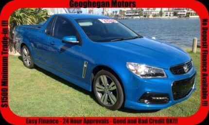 2013 Holden Ute VF SV6 Blue 6 Speed Manual Utility
