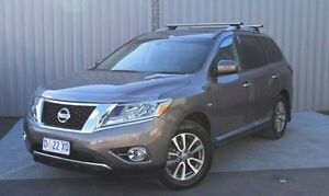 2014 Nissan Pathfinder Grey Constant Variable Wagon Kings Meadows Launceston Area Preview