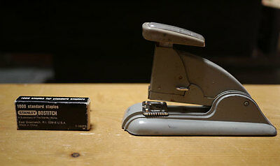 Vintage Gray Swingline Speed Stapler 3 Art Deco Industrial Era W Staples