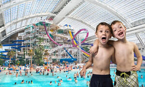 WEM Waterpark or Galaxyland day passes