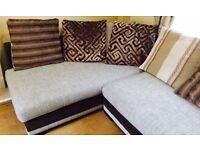 Large L shape sofa for sale