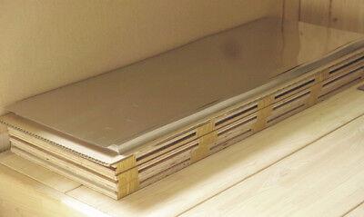 Nickel 48% mumetal alloy for shielding neodymium magnet, 23.5 × 30 cm, 0.35T