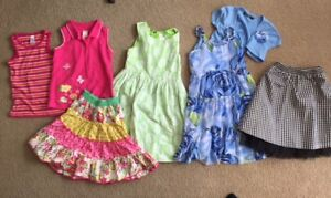 Girl size 6/7 summer clothes-very good condition