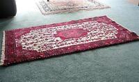 *Price reduced again* Hand made Pakistani Tribal rug