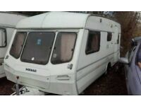 Lunar 1994 4 berth fixed bed in good condition with awning